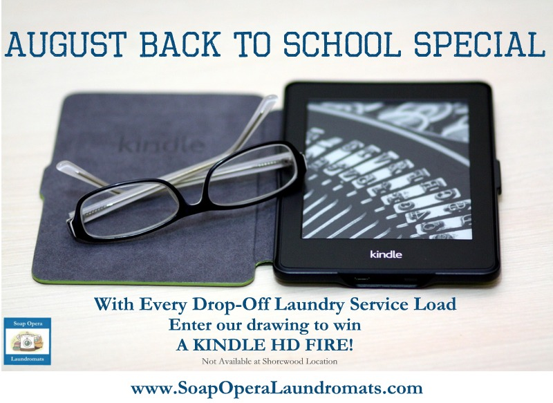 August Laundromat Special