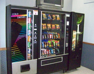 Vending Machines at Hickory Hills Laundromat