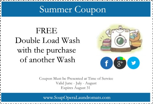 Summer Laundry Coupon