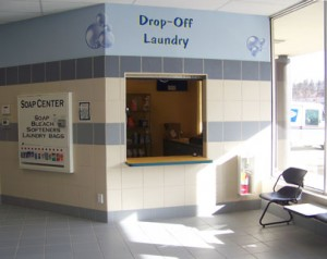 Laundry Drop off and laundry supply center